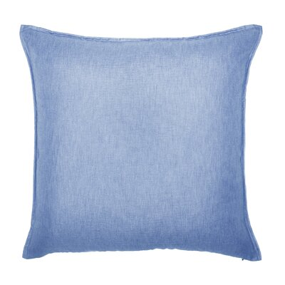Bedford Throw Pillow Color: Blue Jean