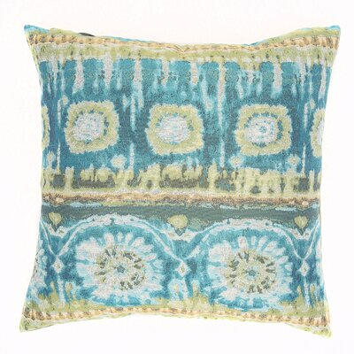 Tiburon Throw Pillow Color: Lagoon