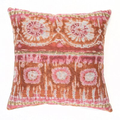 Tiburon Throw Pillow Color: Guava