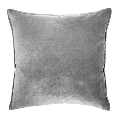 Franklin Velvet Throw Pillow Color: Cyclone