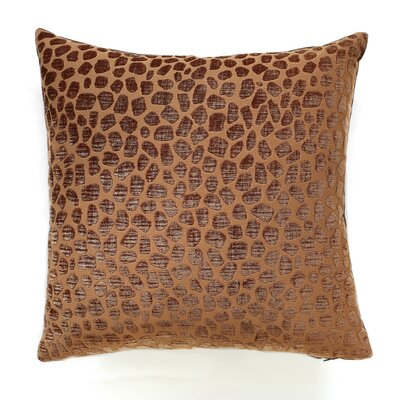 Kenya Throw Pillow Color: Ginger