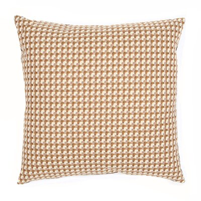 Mendocino Throw Pillow Color: Mushroom