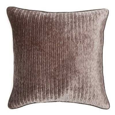 Miramar Throw Pillow Color: Pewter