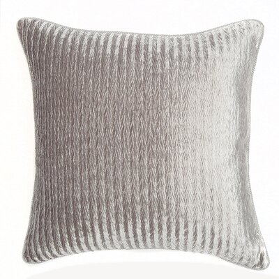Miramar Throw Pillow Color: Silver