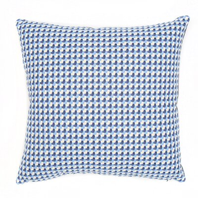 Mendocino Throw Pillow Color: Bluebell