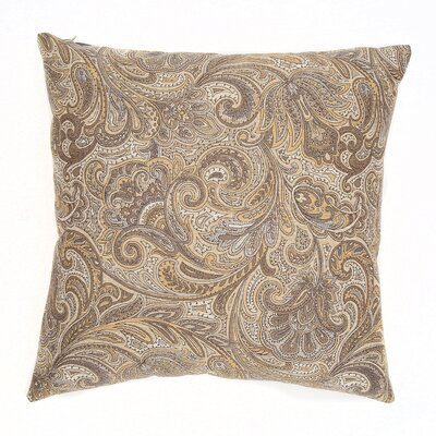 Monticello Throw Pillow Color: Flaxen