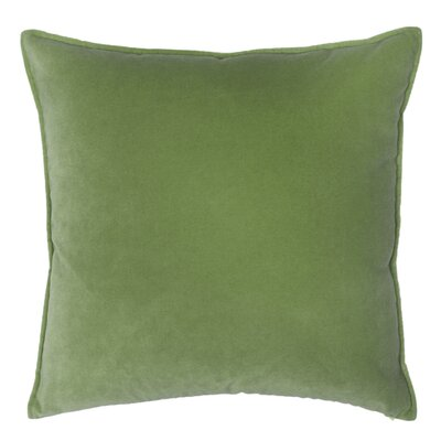 Franklin Velvet Throw Pillow Color: Dublin
