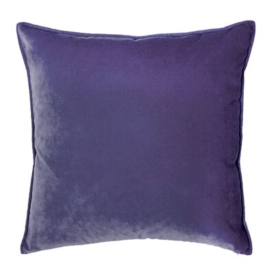 Franklin Velvet Throw Pillow Color: Deep Purple