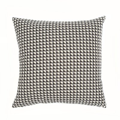 Mendocino Throw Pillow Color: Domino