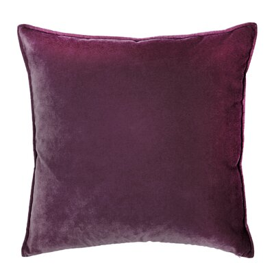 Franklin Throw Pillow Color: Burgundy
