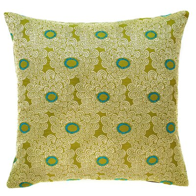 Palermo Throw Pillow Color: Kiwi
