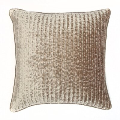 Miramar Throw Pillow Color: Platinum