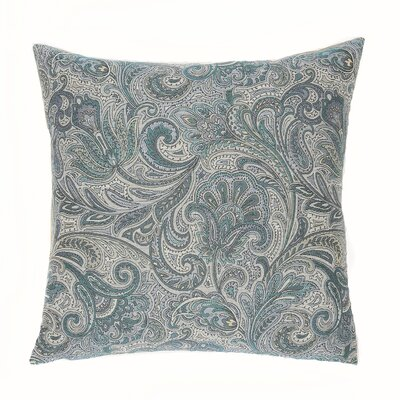 Monticello Throw Pillow Color: Danube