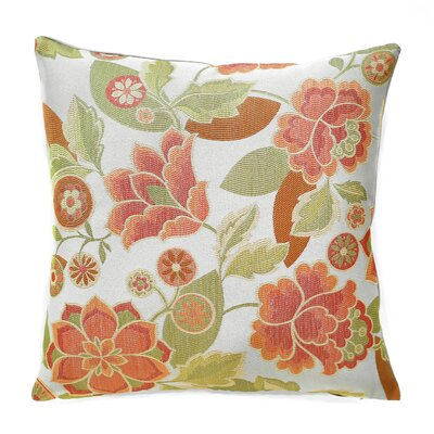 Kauai Throw Pillow Color: Tropicana