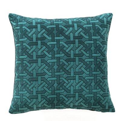 Salzburg Throw Pillow Color: Peacock