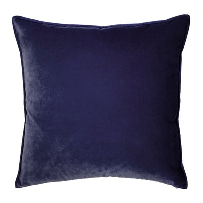 Franklin Velvet Throw Pillow Color: Aubergine