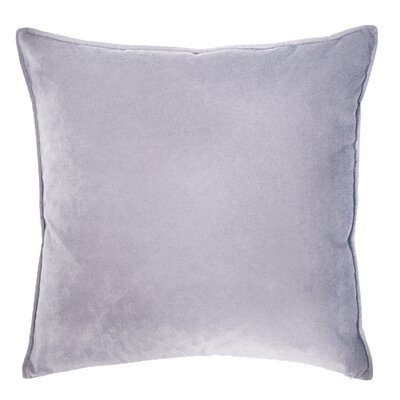 Franklin Velvet Throw Pillow Color: Crocus