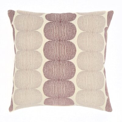 Canton Throw Pillow Color: Plum