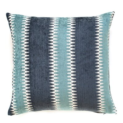 Jaipur Throw Pillow Color: Glacier