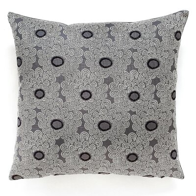 Palermo Throw Pillow Color: Graphite
