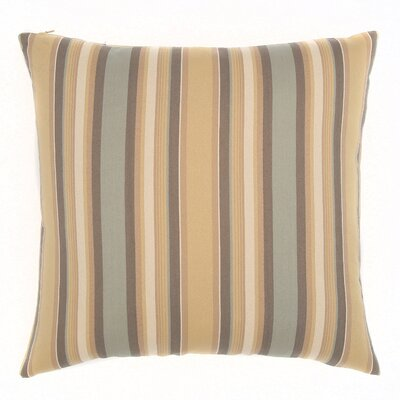 Weston Throw Pillow Color: Dune