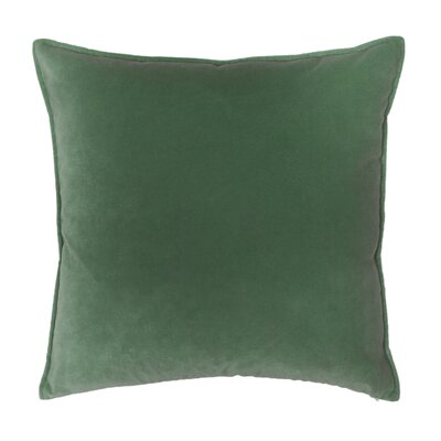 Franklin Velvet Throw Pillow Color: Elf
