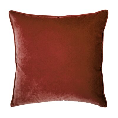 Franklin Velvet Throw Pillow Color: Meteore