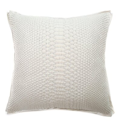 Luxor Throw Pillow Color: Silver