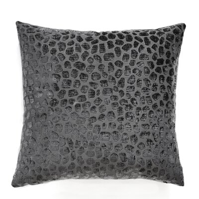 Kenya Throw Pillow Color: Pewter