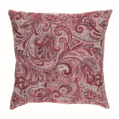 Monticello Throw Pillow Color: Chambord