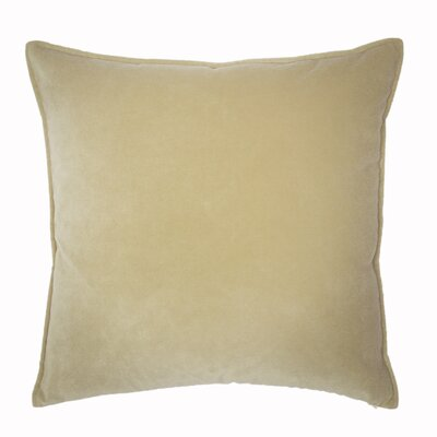 Franklin Velvet Throw Pillow Color: Ostion