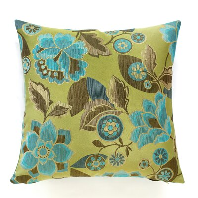 Kauai Throw Pillow Color: Lagoon