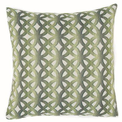La Paz Throw Pillow Color: Jade