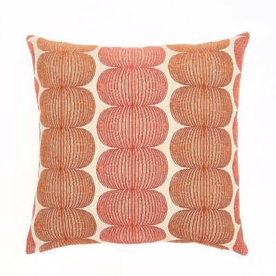 Canton Throw Pillow Color: Marmalade