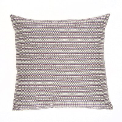 Tunis Throw Pillow Color: Violet