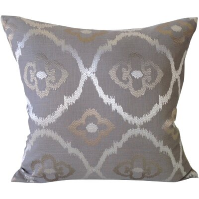 Grand Lake Throw Pillow Color: Platinum