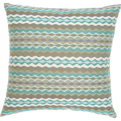 Cadiz Throw Pillow Color: Turquoise