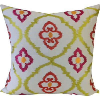Grand Lake Throw Pillow Color: Summer