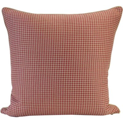 New Briar Hill Throw Pillow Color: Brick