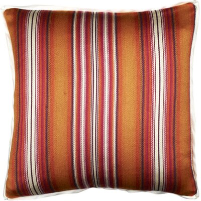 Caracas Throw Pillow Color: Papaya