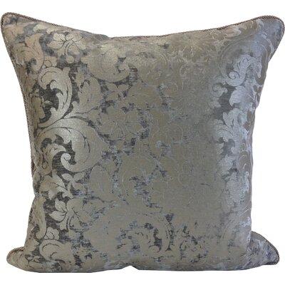 Maldon Throw Pillow Color: Pewter