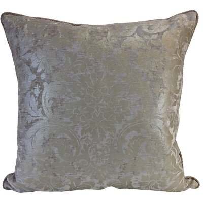 Maldon Throw Pillow Color: Platinum