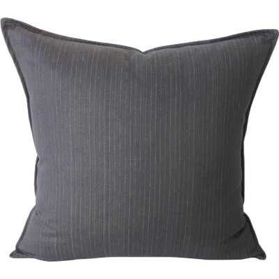 Murphy Throw Pillow Color: Charcoal