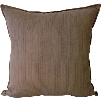 Murphy Throw Pillow Color: Stone