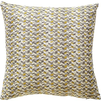 Kyoto Throw Pillow Color: Citron