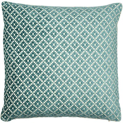 Vienna Throw Pillow Color: Seafoam