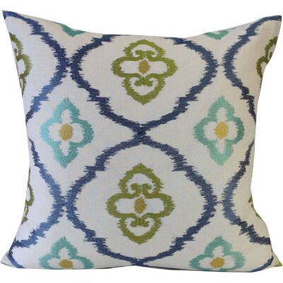 Grand Lake Throw Pillow Color: Cabana Blue