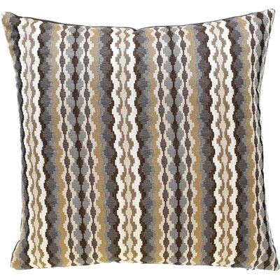 Cadiz Throw Pillow Color: Caramel