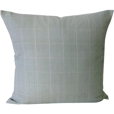 Salem Throw Pillow Color: Sea Glass