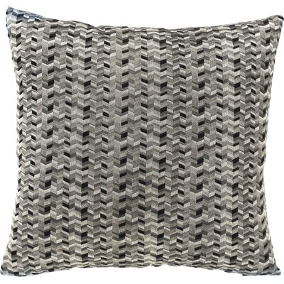 Kyoto Throw Pillow Color: Domino